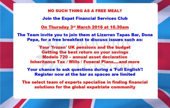 EXPAT FINANCIAL SERVICE MEETING