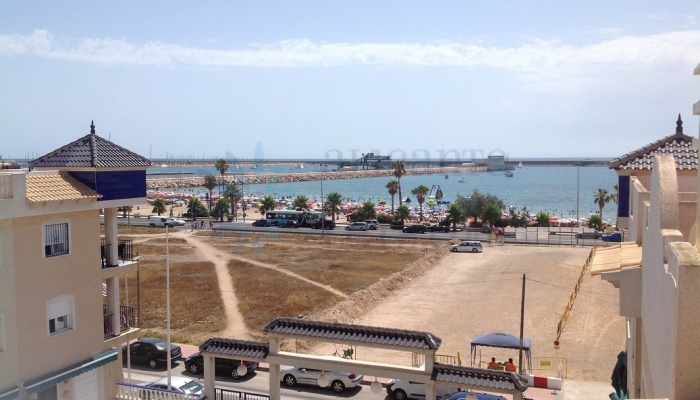 Outdoor view. Alicante Holiday Lets. Torrevieja.