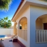 Garden area. Property for rent in Quesada, Alicante Holiday Lets