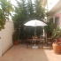 Dinning Garden. Alicante Holiday Lets. Ciudad Quesada