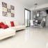 Living room, dinner and kitchen.  Alicante Holiday Lets